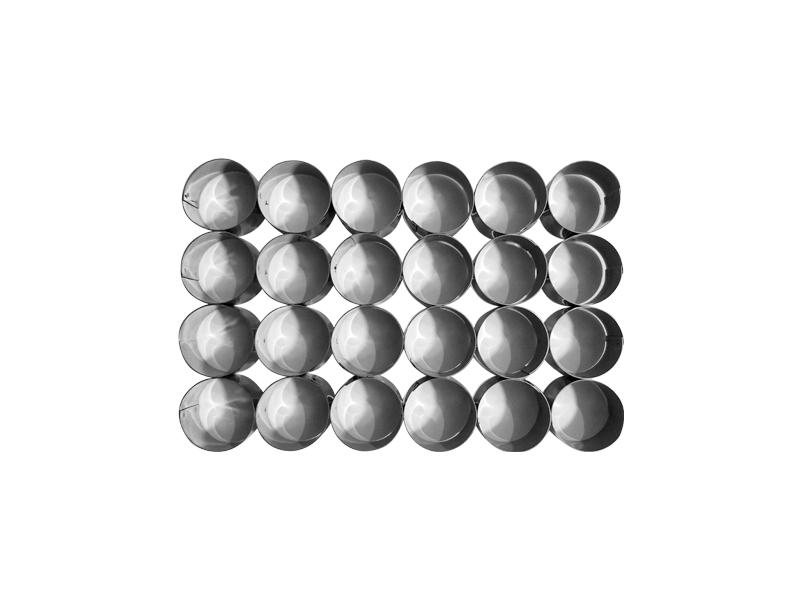 Placa cortante redonda n° 6 por 24 unidades (sin manija)