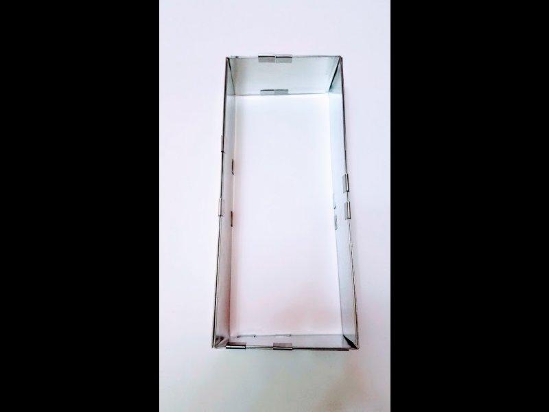 Rectangulo Extensible Doble  12 x 30 cm